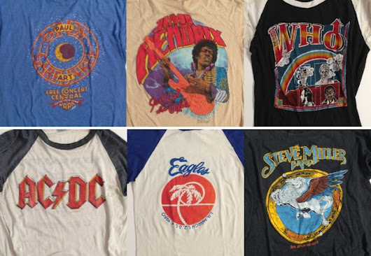 Buy better vintage T-shirts with these tips – RETRuly Blog