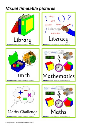 Primary Visual Timetable Classroom Display Resources & Printables ...