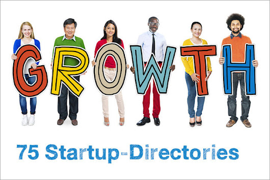 75+ startup-directories to promote your startup -
