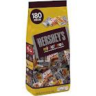 Hersheys Miniatures Chocolates - 180 count, 56 oz bag