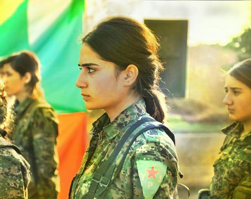 Risultati immagini per YPG GIRL