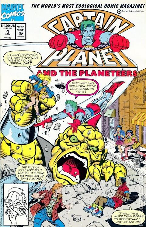 Captain Planet Comic Book 1 Value