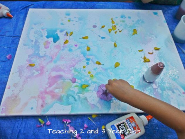Kids Canvas Painting Teaching 2 And 3 Year Olds