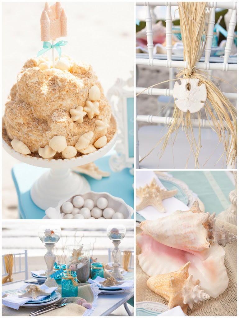 Beach Themed Bridal Shower Ideas Trueblu Bridesmaid Resource For