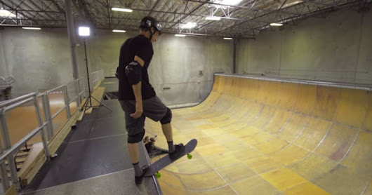 Tony Hawk Lands 900 At 48 Years Old!