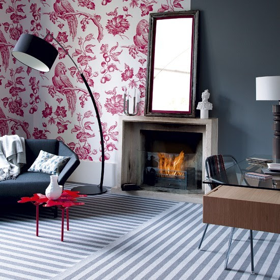 Multi-coloured living room | Living room colour schemes - 10 of ...