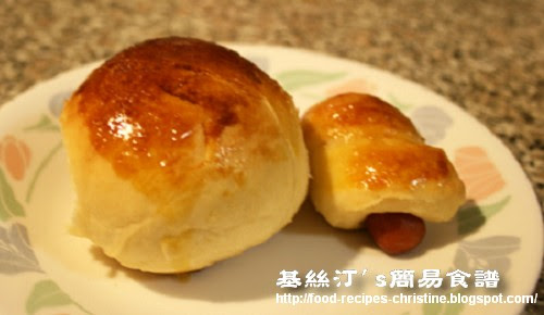 迷你腸仔包 Mini Sausage Bread (Hong Kong Style)