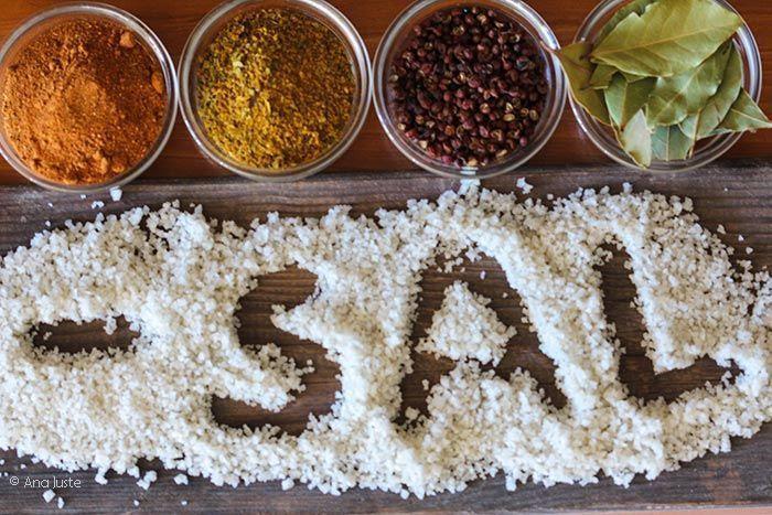 Resultado de imagen para Más especias, menos sal