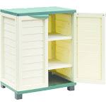 "36"" Cabinet With 2 Shelves - Beige/Green - Starplast"