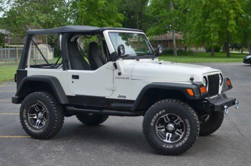 Find used 1997 Jeep Wrangler SE Sport Utility 2-Door 2.5L ...