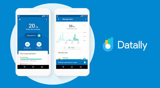 Datally — New App From Google to Save Mobile Data on Android