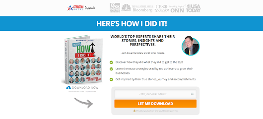 DOWNLOAD the Book - Here's How I Did It! - Top EXPERTS Share Their Stories, Insights and Perspectives