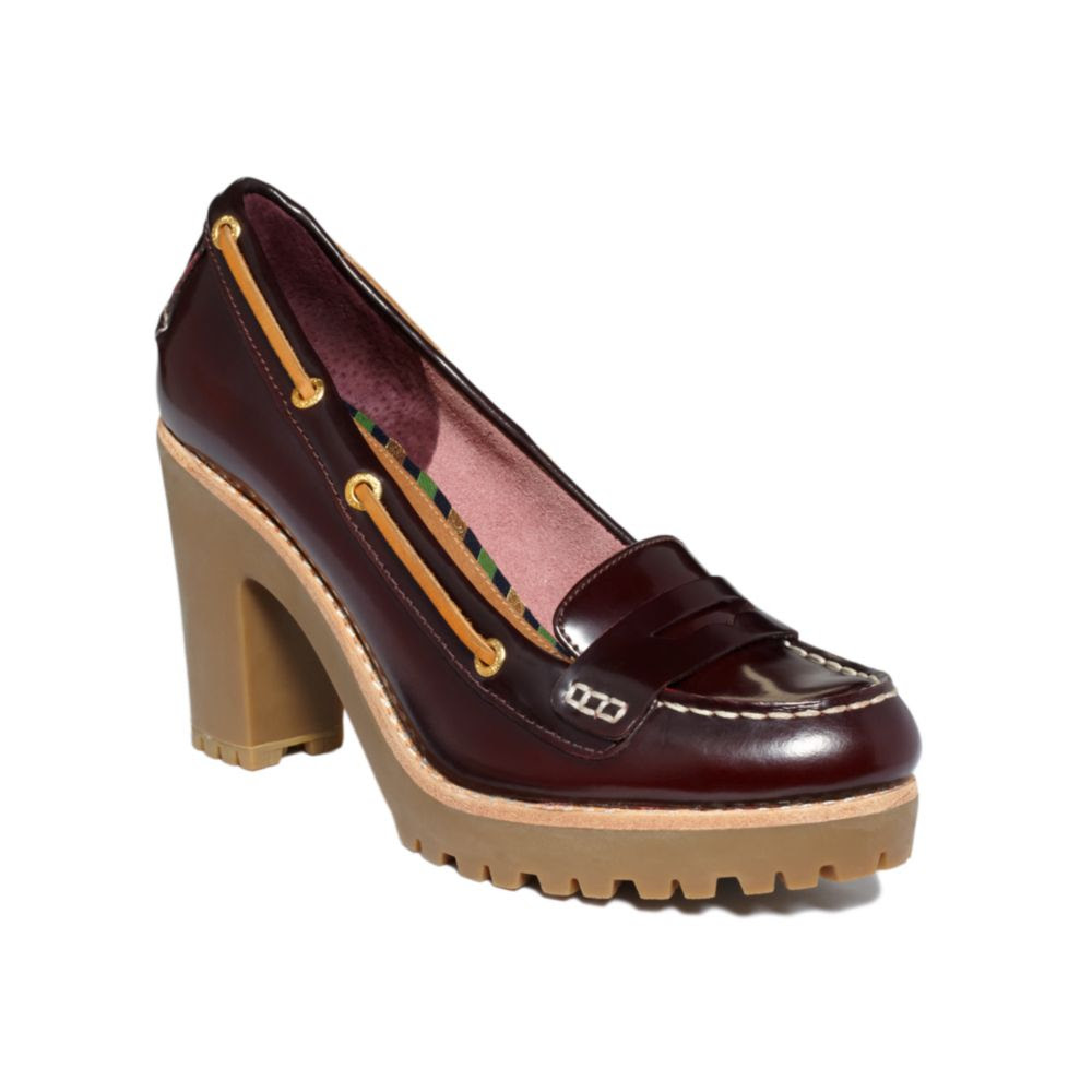 Sperry Top-sider Darlington Penny Loafer Pumps in Brown ...