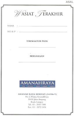 Contoh Surat Wasiat Malaysia Contoh Diam Imagezco