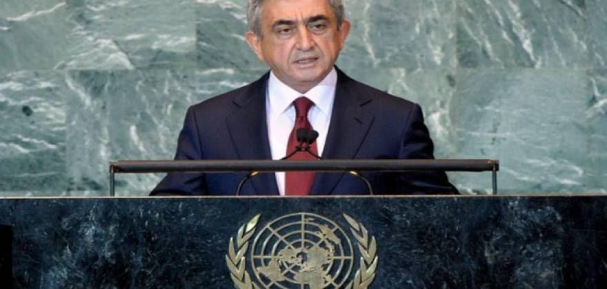 Πρόεδρος της Αρμενίας στον ΟΗΕ: «Στο διάβολο οι συμφωνίες με την Τουρκία η πατρίδα είναι ιερή»