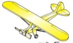 Piper Cub/Champ P40-C Weathervane Whirligig Woodworking Plan - fee plans from WoodworkersWorkshop® Online Store - airplane,aeroplane,whirligigs,whirlygigs,weathervanes,full sized patterns,woodworking plans,woodworkers projects,blueprints,drawings,blueprints,how-to-build,MeiselWoodHobby