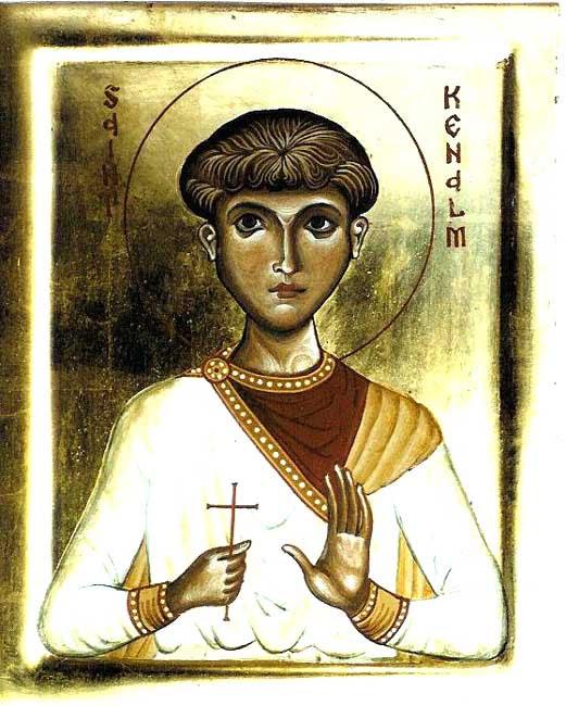 IMG ST. KENELM, Son of King Coenwulf of Mercia in England
