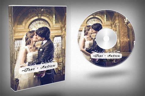Elegant Wedding DVD Cover ~ Templates ~ Creative Market