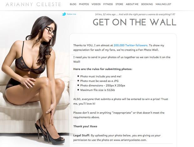 Arianny Celeste, de lingerie, convida fãs a dividirem fotos (Foto: Reprodução SporTV)