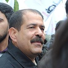 Chokri Belaïd en 2012.