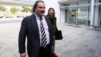 L'exalcalde de Torredembarra, Daniel Masagué, entrant a declarar als jutjats del Vendrell (ACN)