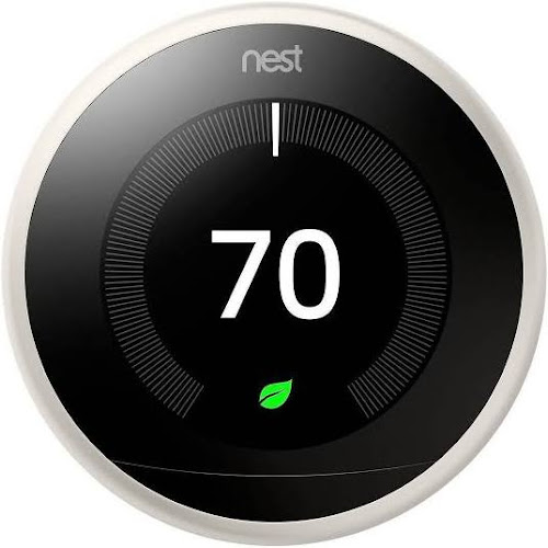 Nest Learning Thermostat 3rd Generation - Wi-Fi/Bluetooth - Android/iOS - White