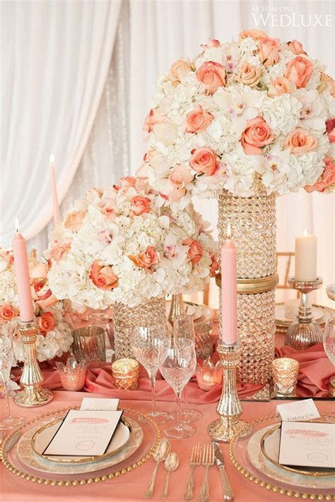271 best Peach, Pink, and Coral Wedding Flowers images on