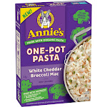 Annie's One Pot White Cheddar Pasta with Broccoli - 7.2oz