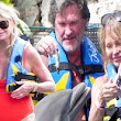 Goldie Hawn is still a bathing beauty at 67 as she dons scarlet swimsuit on romantic holiday with long-term love Kurt Russell