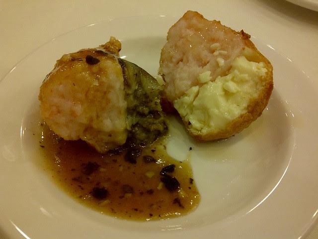 tofu and eggplant with shrimp mousse 2