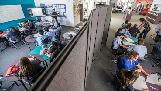 Schools hit a wall with open-plan classrooms