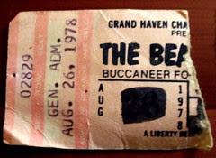 Beach Boys ticket