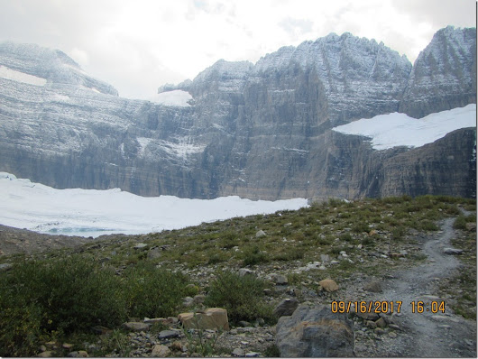 Are the glaciers in Glacier National Park growing?