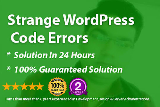 ethanhawke878 : I will fix your wordpress problem or error or issue for $5 on www.fiverr.com