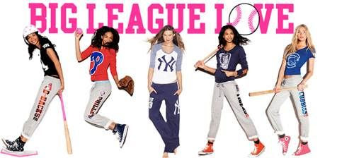 MLB Team Gear - Victoria's Secret Pink