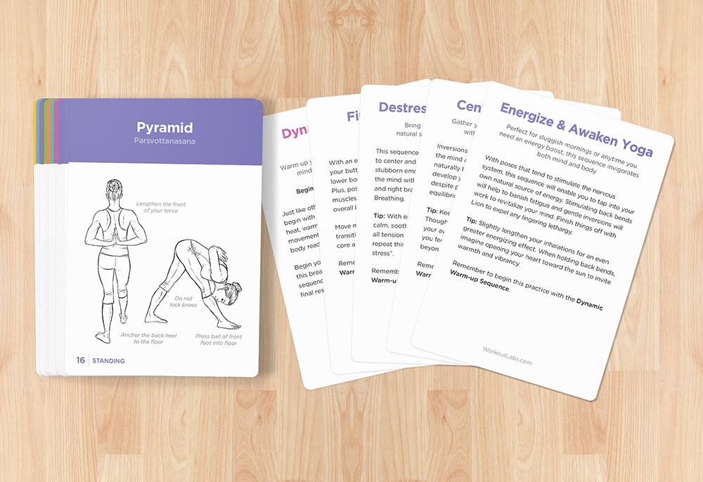 YOGA CARDS – Essential Visual Practice Guide for Beginners