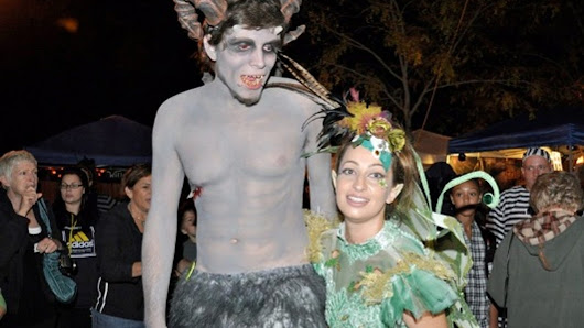 Scene at Night: Kick off Halloween at Witches Ball
