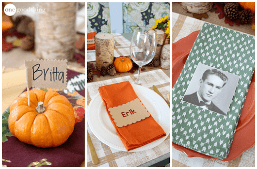 8 Unique And Easy-To-Make Thanksgiving Place Cards