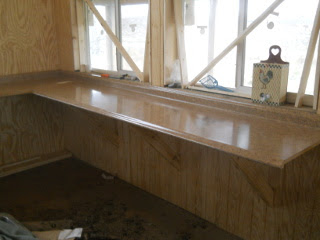 Kitchen Counter Right Side
