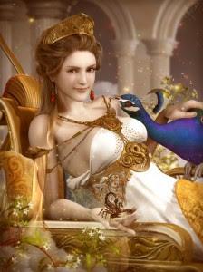 Hera (Juno) Greek Goddess - Art Picture