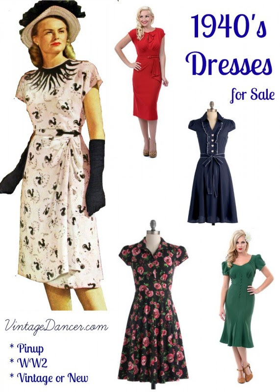 1940s evening dresses for sale uk