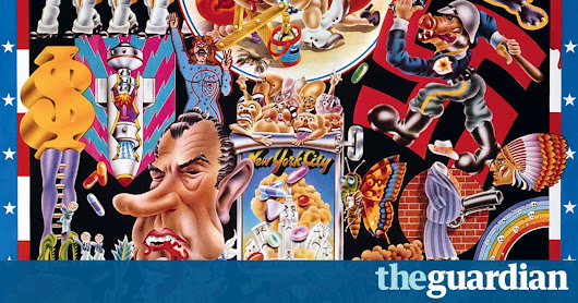 How Alan Aldridge made the 60s swing – in pictures | Art and design | The Guardian