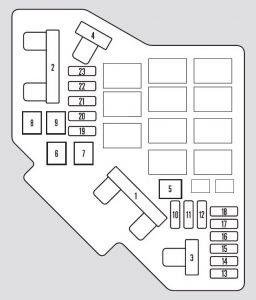 Honda Pilot 2012 Fuse Box Diagram Auto Genius