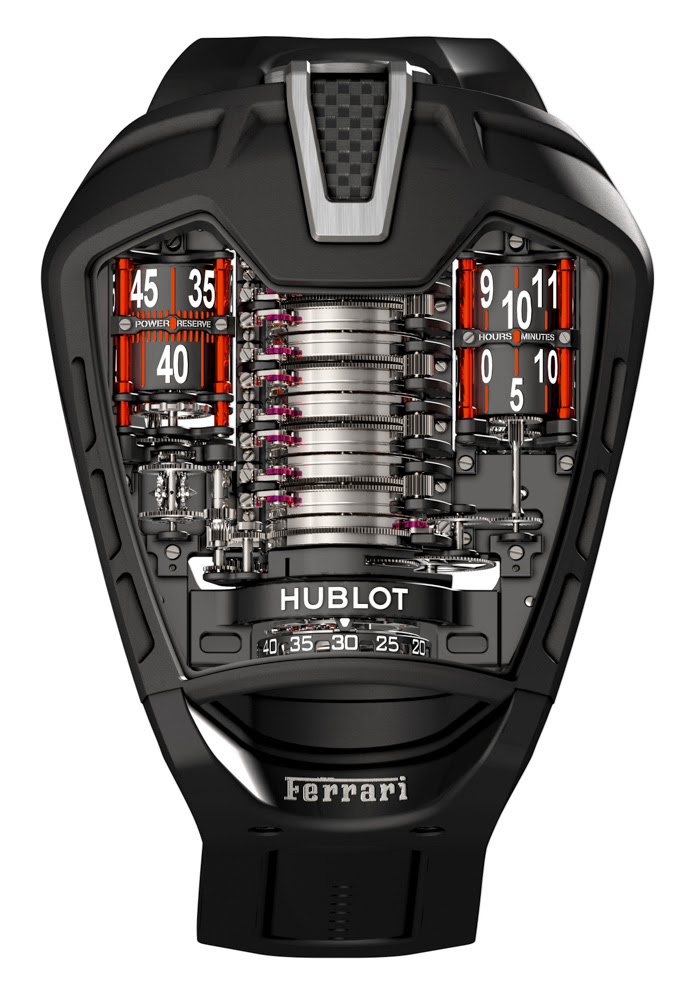 Hublot and Ferrari: The Art of Fusion  aBlogtoWatch