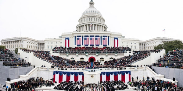 President Barack Obama delivers his inaugural address from the West Front of the U.S. Capitol during the inaugural swearing-in ceremony in Washington, D.C., Jan. 21, 2013. (Official White House Photo by Lawrence Jackson)