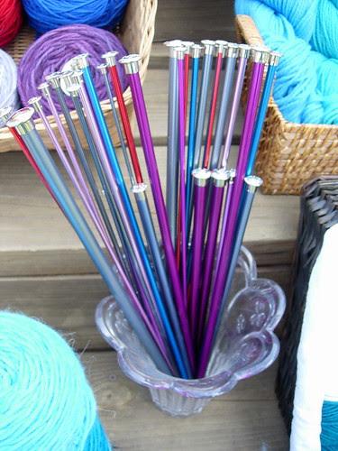Needles! Colorful Needles!