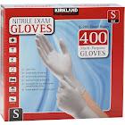 Kirkland Signature Latex-Free Nitrile Exam Multi-Purpose Gloves Small 400 Count