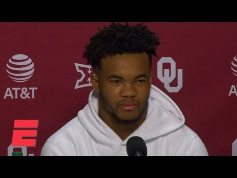 Kyler Murray: Telling the Oakland A's I'm entering the NFL draft was tough