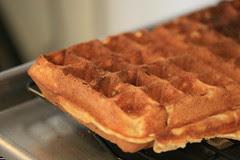 Buttermilk Waffles at Brunch, San Francisco, CA