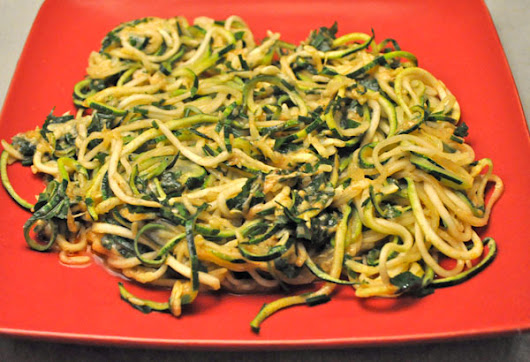 Zucchini Noodles Parmesan; the harvest begins - Thyme for Cooking, Blog